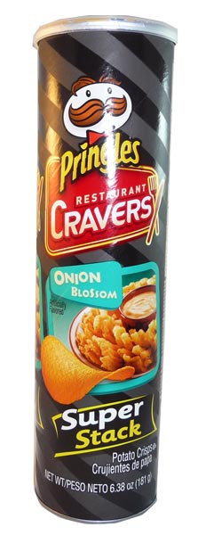 Pringles - Restaurant Cravers - Onion Blossom, by Pringles,  and more Snack Foods at The Professors Online Lolly Shop. (Image Number :3010)