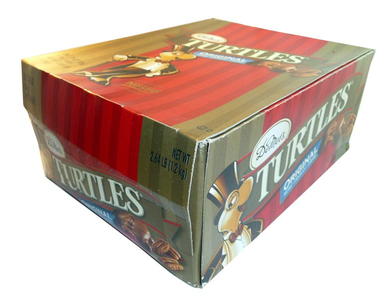 DeMet s Turtles - Original, by Nestle,  and more Confectionery at The Professors Online Lolly Shop. (Image Number :3046)