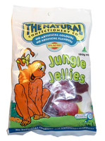 The Natural Confectionery Co. - Jungle Jellies, by The Natural Confectionery Co.,  and more Confectionery at The Professors Online Lolly Shop. (Image Number :3037)