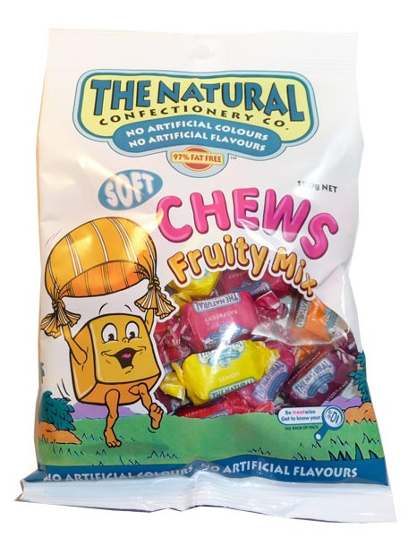 The Natural Confectionery Co. - Fruity Chews Mix, by The Natural Confectionery Co.,  and more Confectionery at The Professors Online Lolly Shop. (Image Number :3121)