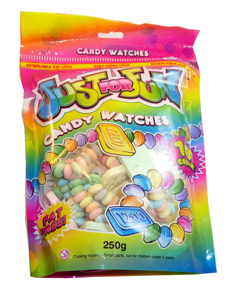 Just For Fun - Watches, by Morris National,  and more Confectionery at The Professors Online Lolly Shop. (Image Number :3157)