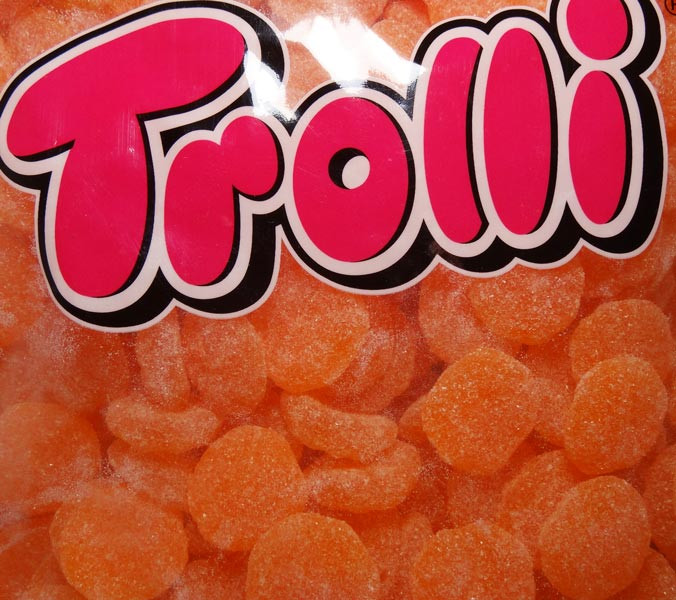 Trolli Sour Mandarines, by Trolli,  and more Confectionery at The Professors Online Lolly Shop. (Image Number :7889)