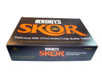 Hersheys Skor, by Hersheys,  and more Confectionery at The Professors Online Lolly Shop. (Image Number :3204)