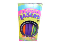 Neon Lasers, by Universal Candy,  and more Confectionery at The Professors Online Lolly Shop. (Image Number :3210)