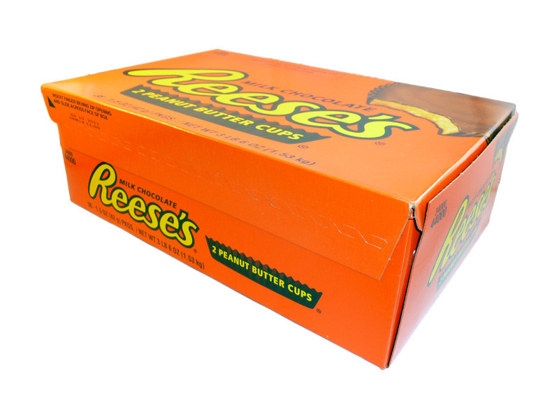 Reeses 2 Peanut Butter Cups, by Reeses,  and more Confectionery at The Professors Online Lolly Shop. (Image Number :3222)
