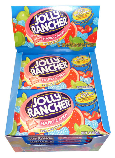 Jolly Rancher Hard Candy - Bold Fruit Flavours, by Jolly Rancher,  and more Confectionery at The Professors Online Lolly Shop. (Image Number :3373)