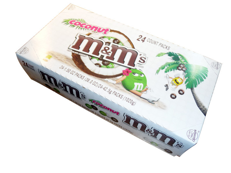 M&M Coconut, by Mars,  and more Confectionery at The Professors Online Lolly Shop. (Image Number :3354)