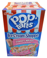 Kelloggs Pop Tarts - Frosted Strawberry Milkshake, by Kelloggs Pop Tarts,  and more Snack Foods at The Professors Online Lolly Shop. (Image Number :3363)
