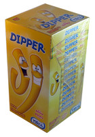 Dipper Chewy Toffee Sticks -Banana, by Candy Brokers,  and more Confectionery at The Professors Online Lolly Shop. (Image Number :3391)