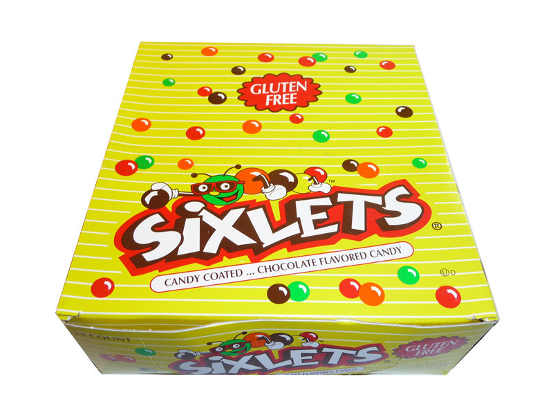 Sixlets Packs, by Sixlets,  and more Confectionery at The Professors Online Lolly Shop. (Image Number :3421)