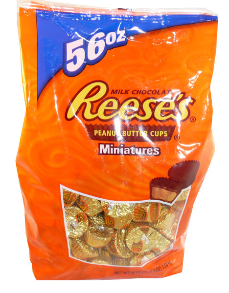Reeses Mini Peanut Butter Cups 56oz, by Reeses,  and more Confectionery at The Professors Online Lolly Shop. (Image Number :3562)