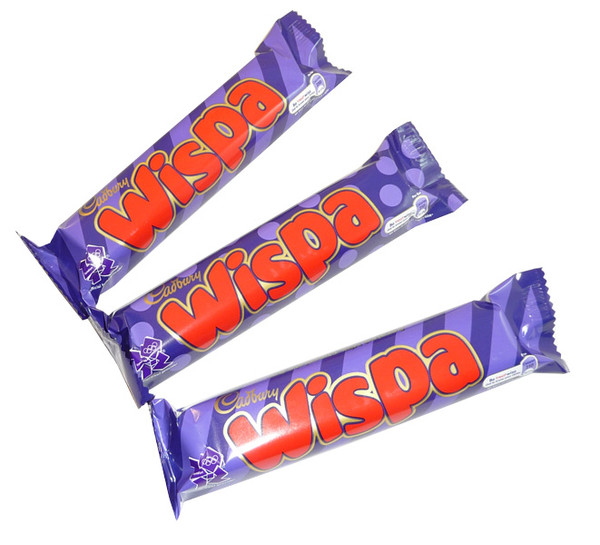 Cadbury Wispa, by Cadbury,  and more Confectionery at The Professors Online Lolly Shop. (Image Number :3431)