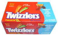 Twizzlers Twists - Rainbow, by Hersheys,  and more Confectionery at The Professors Online Lolly Shop. (Image Number :3450)