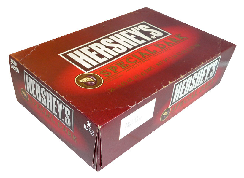 Hershey s Special Dark Bars, by Hersheys,  and more Confectionery at The Professors Online Lolly Shop. (Image Number :4078)