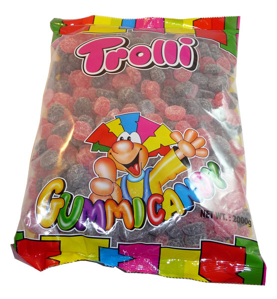 Trolli Sour Red and Black Berries, by Trolli,  and more Confectionery at The Professors Online Lolly Shop. (Image Number :3496)
