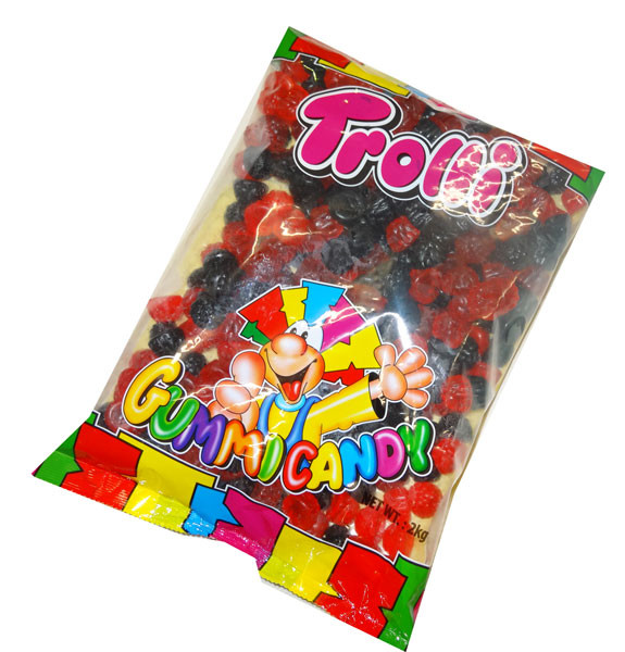 Trolli Raspberry and Blackberry, Oiled, by Trolli,  and more Confectionery at The Professors Online Lolly Shop. (Image Number :4465)