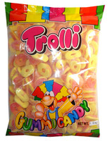 Trolli Sour Peach Rings, by Trolli,  and more Confectionery at The Professors Online Lolly Shop. (Image Number :7890)