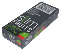 Slim Fruits - Luscious Rhubarb and Strawberry Pastilles, by Ferndale Confectionery/Slim Fruits,  and more Confectionery at The Professors Online Lolly Shop. (Image Number :3723)