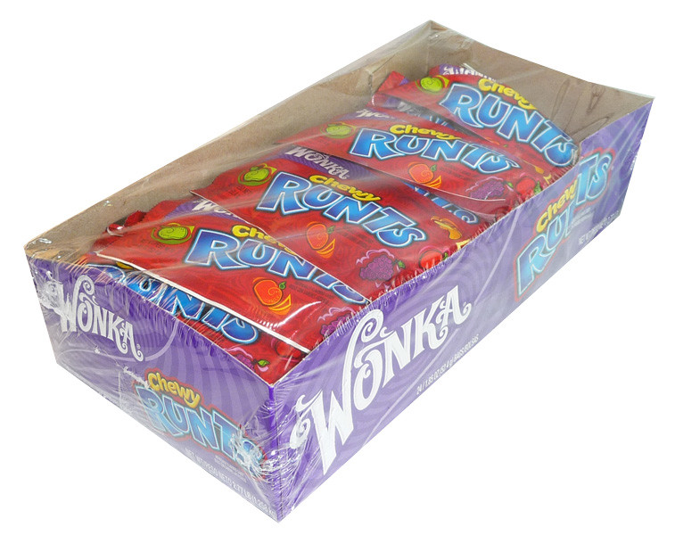 Wonka Chewy Runts, by Wonka,  and more Confectionery at The Professors Online Lolly Shop. (Image Number :3747)