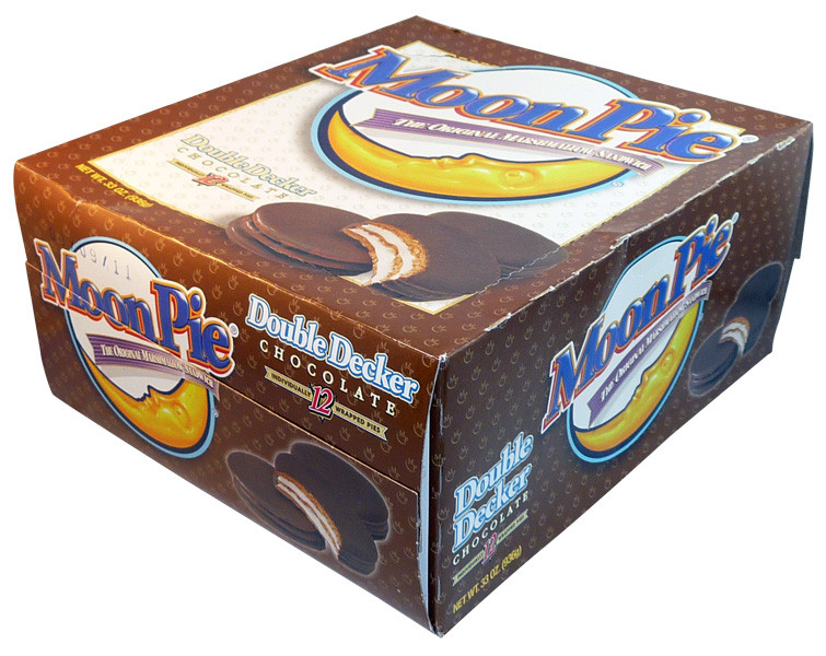 Moon Pie, by Chatanooga Bakery/Other,  and more Confectionery at The Professors Online Lolly Shop. (Image Number :4011)