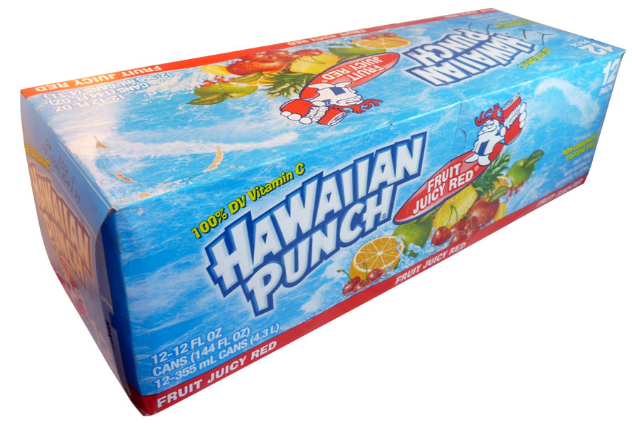 Hawaiian Punch, by Dr Pepper,  and more Beverages at The Professors Online Lolly Shop. (Image Number :3962)