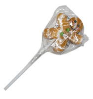 Lollipop - Gingerbread Man Pops, by Oriental Trading Company,  and more Confectionery at The Professors Online Lolly Shop. (Image Number :4882)
