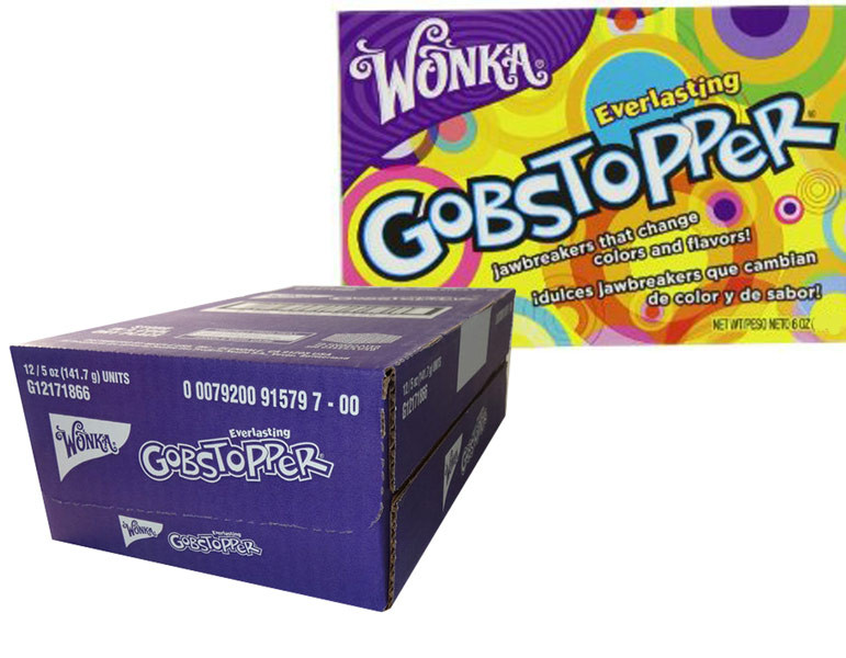 Gobstoppers - Theatre box, by Wonka,  and more Confectionery at The Professors Online Lolly Shop. (Image Number :6518)