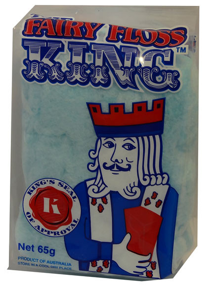 The Fairy Floss King, by The Fairy Floss King,  and more Confectionery at The Professors Online Lolly Shop. (Image Number :4332)