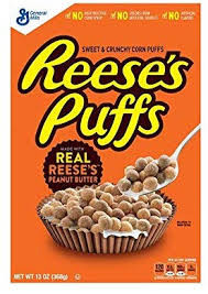 Reeses Puffs - Cereal, by Reeses,  and more Snack Foods at The Professors Online Lolly Shop. (Image Number :14902)