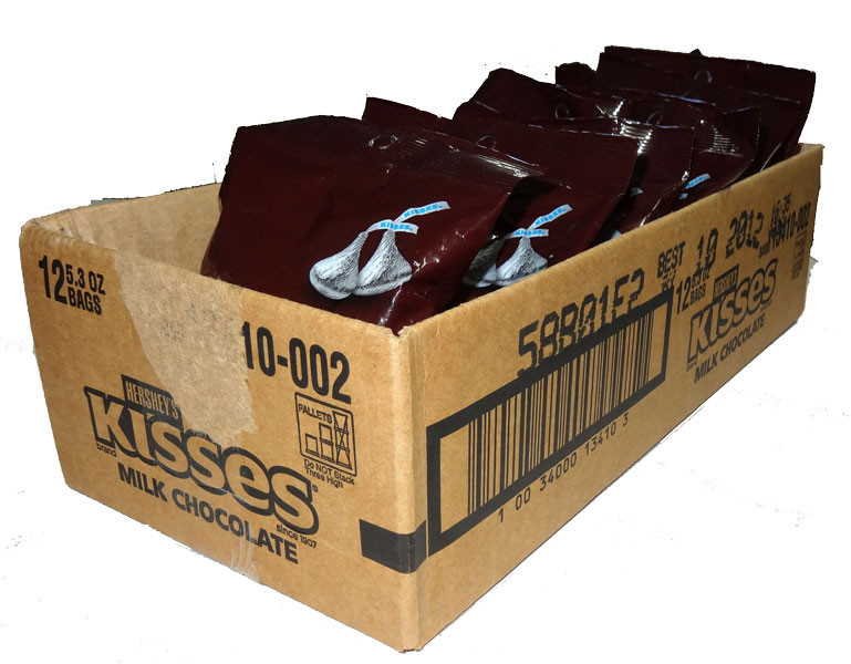 Hershey s Kisses, by Hersheys,  and more Confectionery at The Professors Online Lolly Shop. (Image Number :4681)