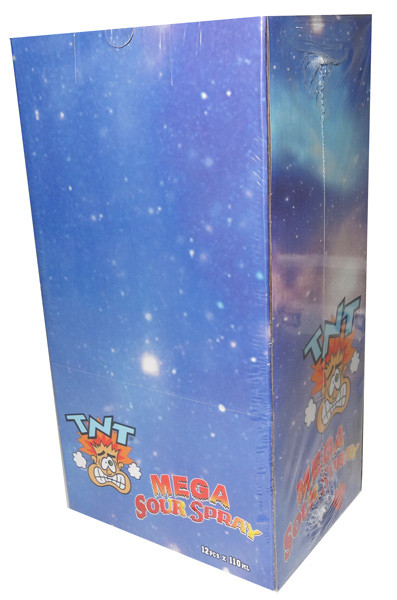 TNT Mega Candy Sour Spray, by TNT,  and more Confectionery at The Professors Online Lolly Shop. (Image Number :5524)