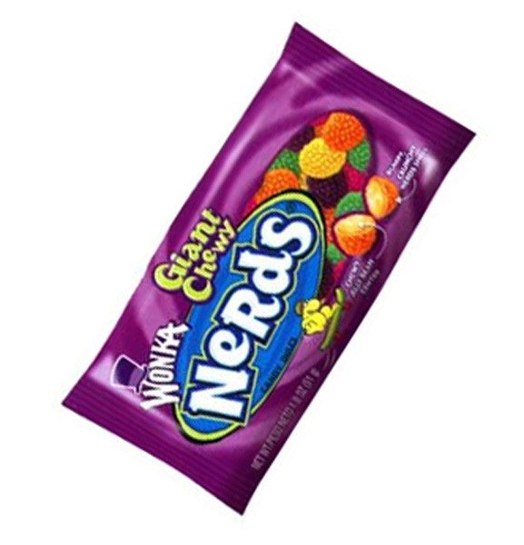 Wonka Giant Chewy Nerds, by Wonka,  and more Confectionery at The Professors Online Lolly Shop. (Image Number :6143)