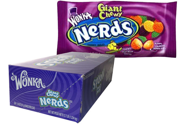 Wonka Giant Chewy Nerds, by Wonka,  and more Confectionery at The Professors Online Lolly Shop. (Image Number :6159)