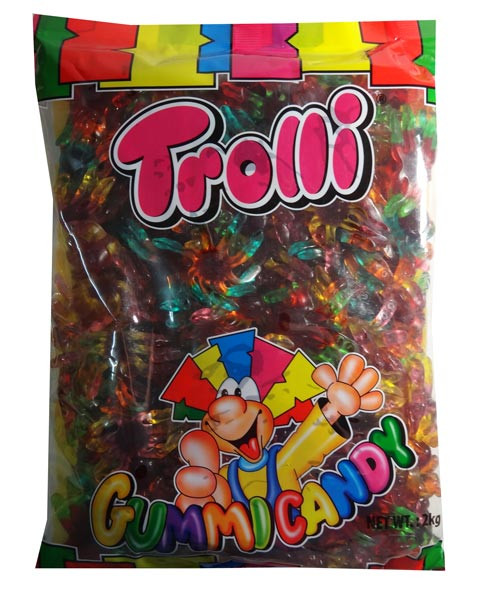 Trolli Octopus  2kg bulk bag, by Trolli,  and more Confectionery at The Professors Online Lolly Shop. (Image Number :7869)