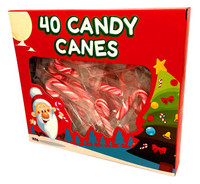 Mini Candy Canes and more Confectionery at The Professors Online Lolly Shop. (Image Number :13520)