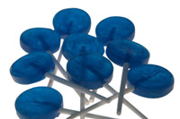 Single Colour Lollipops - Blue - Tutti-Frutti Flavour, by Budget Sweets/Other,  and more Confectionery at The Professors Online Lolly Shop. (Image Number :4059)