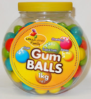 Lolliland Gum Balls, by Famous Makers/Other,  and more Confectionery at The Professors Online Lolly Shop. (Image Number :6247)