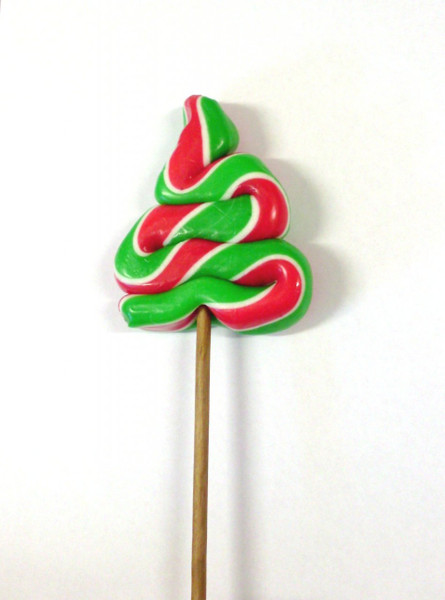 Christmas tree Lollipop, by Designer Candy/Other,  and more Confectionery at The Professors Online Lolly Shop. (Image Number :4065)