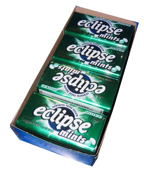 Eclipse Mints Spearmint, by Wrigley,  and more Confectionery at The Professors Online Lolly Shop. (Image Number :4550)