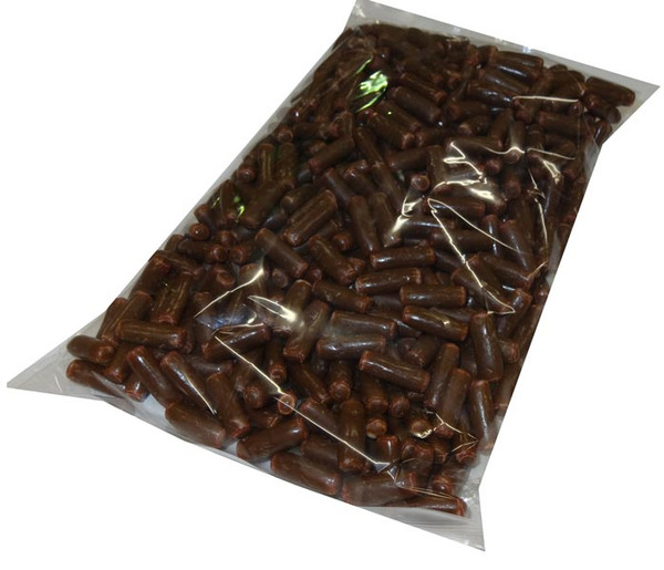 Betta Milk Choc Raspberry Bullets, by Betta Foods,  and more Confectionery at The Professors Online Lolly Shop. (Image Number :4545)