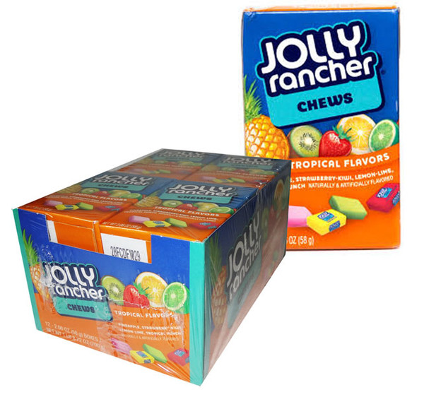 Jolly Rancher Tropical Chews, by Jolly Rancher,  and more Confectionery at The Professors Online Lolly Shop. (Image Number :6507)