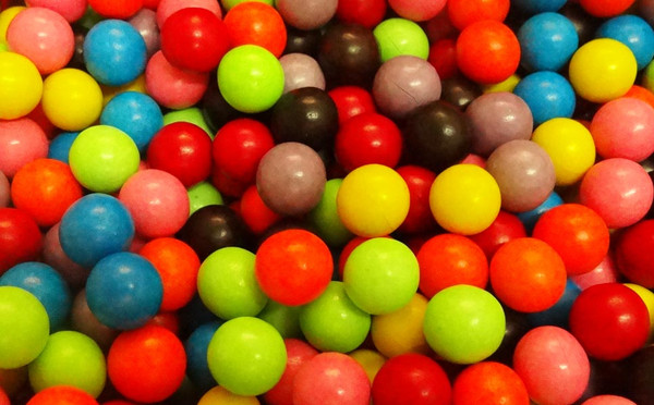 Choc Rainbow Balls, by Confectionery Trading Company,  and more Confectionery at The Professors Online Lolly Shop. (Image Number :10047)