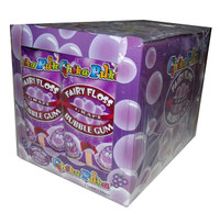 Chika Puka - Fairy Floss Gum - grape flavour, by Candy Brokers,  and more Confectionery at The Professors Online Lolly Shop. (Image Number :4650)