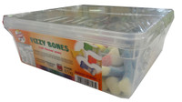 Gummini Fizzy Bones, by AIT Confectionery,  and more Confectionery at The Professors Online Lolly Shop. (Image Number :4600)