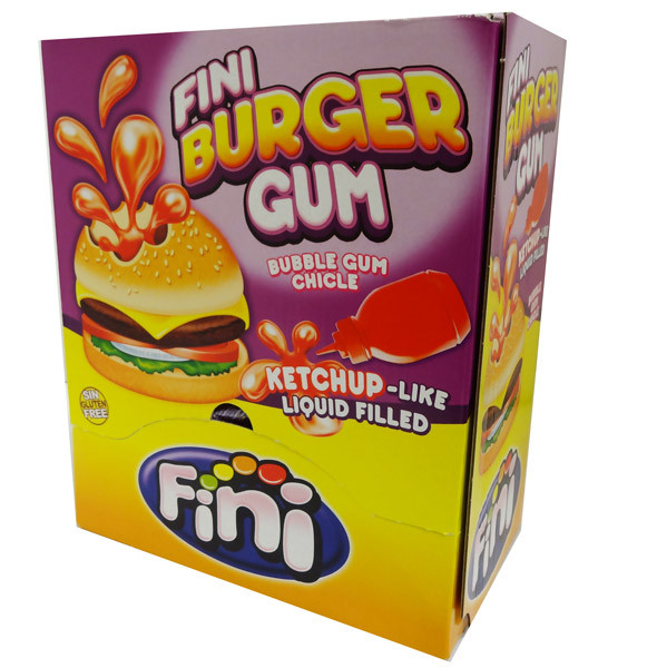 Fini Burger Gum, by Fini,  and more Confectionery at The Professors Online Lolly Shop. (Image Number :4382)
