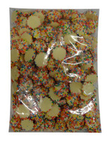 Custom Choc - White Choc Jewels with Multi-Coloured Speckles, by Confectionery Trading Company,  and more Confectionery at The Professors Online Lolly Shop. (Image Number :9737)
