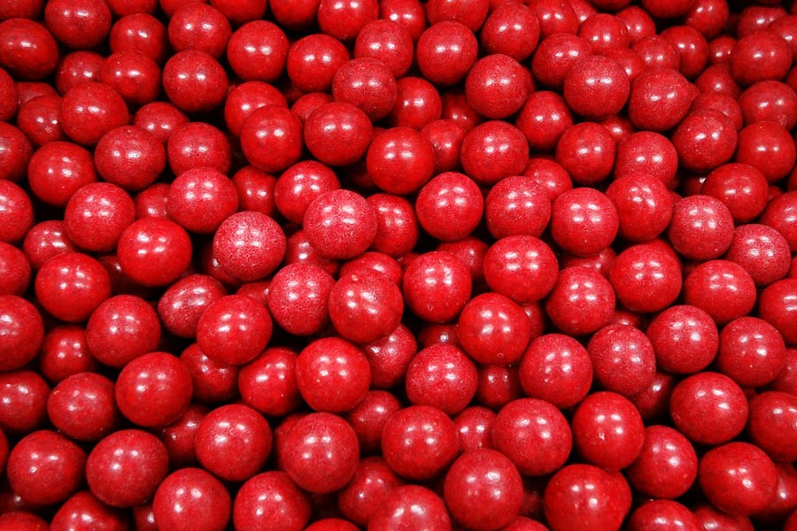 Aniseed Balls - Red, by Confectionery House,  and more Confectionery at The Professors Online Lolly Shop. (Image Number :4674)
