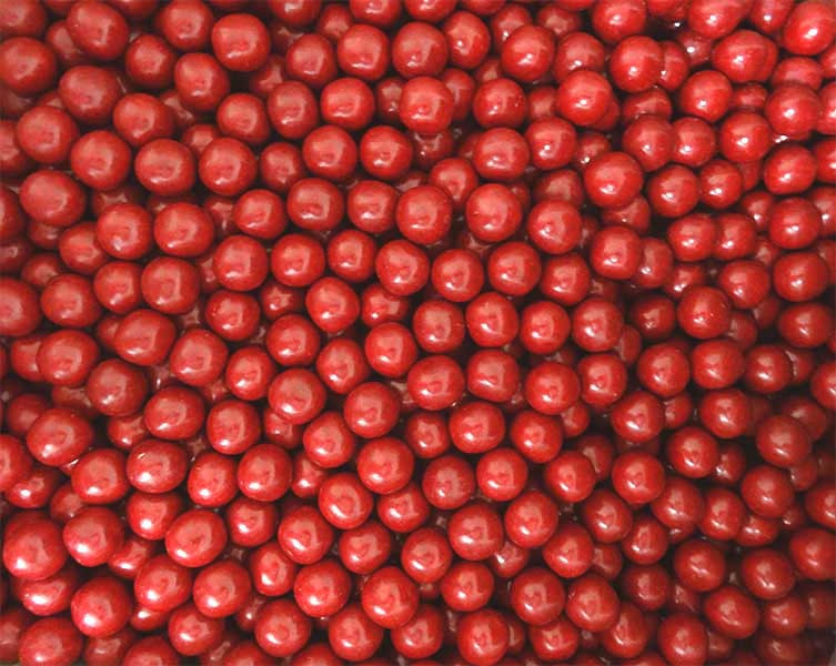 Aniseed Balls - Red, by Confectionery House,  and more Confectionery at The Professors Online Lolly Shop. (Image Number :14101)