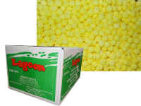 Fizzoes Box - Yellow, by Lagoon Confectionery,  and more Confectionery at The Professors Online Lolly Shop. (Image Number :6086)