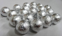 Foiled Milk Choc Silver Balls, by Confectionery Trading Company/Niagara,  and more Confectionery at The Professors Online Lolly Shop. (Image Number :5024)